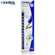 Карандаш треугольной формы Lyra Groove Slim Graphite , 7/10 мм, HB фото