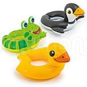 "Круг для плавания ""Животные"" 64х64 см, 3 вида Intex 59220 фото"