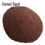 Гранатовый абразивный песок Garnet фото