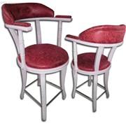 Стулья деревянные W-09, стул с подлокотником для казино, кафе, бара, ресторана фото