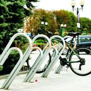 Велопарковка Скрепка 1 фото