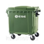 Мусорные контейнеры, баки пластиковые 660л фото
