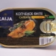 Сардина филе копченая в масле с перцем фото