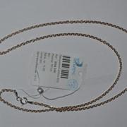 Цепь серебряная позолоченная Арт 855А 5/50 фото