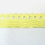 Резинка ажурная М-004, жёлтая, OR_1021/м фото