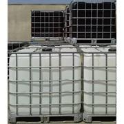 Еврокуб чистый, белый пластик, б/у (1000л, контейнер IBC) (Schutz) фото