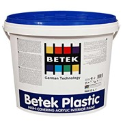 Интерьерная краска для внутренних работ Betek Plastic фото