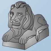 Скульптура Лев 2.2 фото