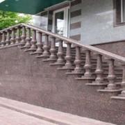 Гранитные ступени и лестницы фото