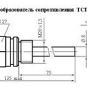Термометр сопротивления платиновый ТСП 001-03-75 фото