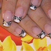 Наращивание ногтей гель, Киев фото