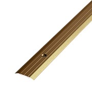 ЛУКА Порог стыкоперекрывающий ПС 01-1800-04л бронза анодир-я (1,8м) 25мм фото