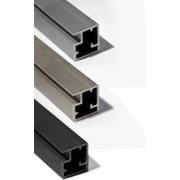 Алюминиевые профили для фасадных дверей фото