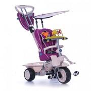 Трехколесный велосипед Recliner Stroller 4 в 1 фиолетовый Smart Trik фото