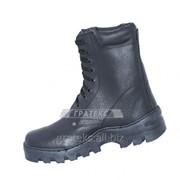 Берцы (ботинки) мод 601С, кожаные, бортопрошивная подошва фото