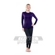 Фуфайка (термо) 301-S/VТ женская, цв.фиолетовый, GUAHOO Outdoor Light фото