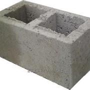 Фундаментный керамзитобетонный блок 1200 х 500 х 600 мм фото