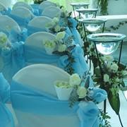 Цветочное оформление свадьб фото