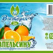 "Напиток с ароматом апельсина ТМ ""Виктория"" фото"