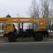 Автогидроподъемник ВС-22.06 (двухколенный) на шасси КамАЗ-4326 (4x4) фото