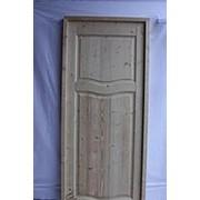 Дверной блок ЛП 2050х670 (+коробка) массив сосна фото