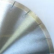Сегментный диск по граниту с микропазом фото
