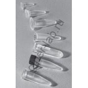Пробирка микроцентрифужная (Эппендорфа) 1,5 мл без делений с завинчивающейся крышкой фото