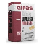Шпаклевка финишная Гифас Финиш Гипс, 5 кг фото