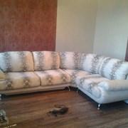 Перетяжка мягкой мебели на дому в течении дня. фото