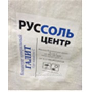 Галит типа С, NaCl - 96,38%, мешок 50 кг фото