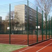 Ограждения для спортивных площадок фото