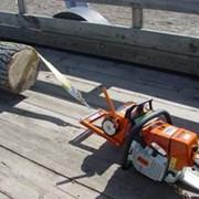 Лебедка тяговая трелевочная с приводом от бензопилы фото