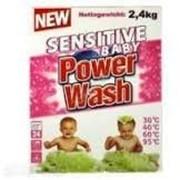 Порошок стиральный Power Wash Baby 2,4 кг фото