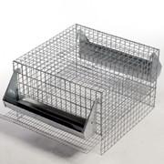 Клетка для перепелок одноярусная на 20 мест (450х450х300мм), двухярусная, трехярусная, четырехярусная фото