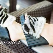 Женские стильные тапочки на платформе фото