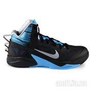 Кроссовки Nike Zoom Hyperfuse 2013 Black Wolf Grey Vivid Blue фото