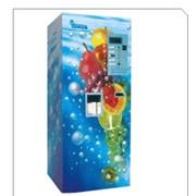 Автомат для приготовления и продажи газированных напитков фото