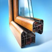 Цветные металлопластиковые окна фото