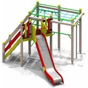 Уличный спортивно-игровой комплекс Силач для детей 6-12 лет фото