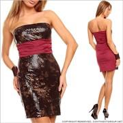 UTCG Вечернее платье с принтом 152502 фото