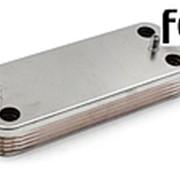 Теплообменник ГВС Ferroli Divatech C24D/F24D 10 пластин (39842130) фото