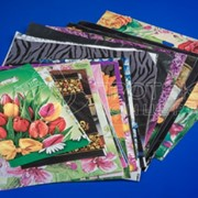 Пакеты с петлевой ручкой, с печатью и без печати в ассортименте фото