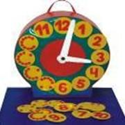 Развивающая игра, обучение счёту и времени. Развивающие модули. ИМ-016 Часики фото