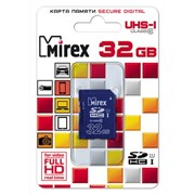 Карта памяти SDHC MIREX 32GB UHS-I, class 10 фото