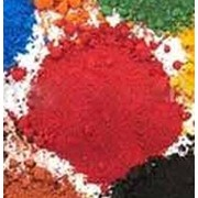 Пигмент железооксидный Германия красный фото
