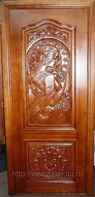 Двери из массива дуба межкомнатные купить в Минске, цена