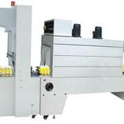 Полуавтоматическая машина для упаковки продукции в термоусадочную пленку BZJ-5038B фото