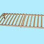 Односпальные ортопедические решетки – тахта (с ножками - опорами) фото