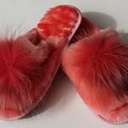 Домашняя обувь оптом фото