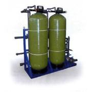 Установка промывных фильтров воды фото